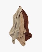 Garbo & Friends Muslin Burp Cloth 3-Pack Hay