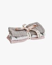 Garbo & Friends Muslin Burp Cloth 3-Pack Rosemary
