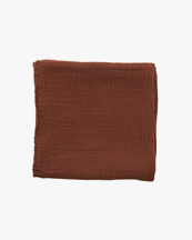 Garbo & Friends Muslin Swaddle Blanket Cinnamon