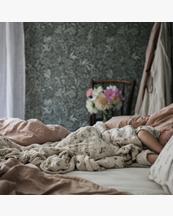 Garbo & Friends Muslin Swaddle Blanket Clover