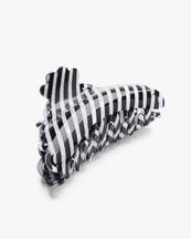 Pico Elly Hair Claw Black/White Stripe