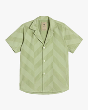 Oas Company Cuba Terry Shirt Sculpted Herring