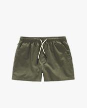 Oas Company Linen Shorts Army