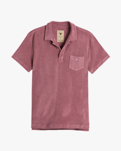 Oas Company Solid Terry Shirt Dusty Plum