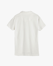 Oas Company Solid Terry Shirt White