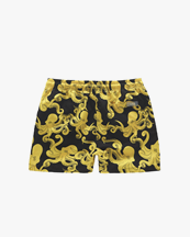 Oas Company Swim Shorts Black Octo