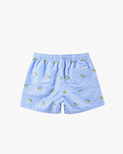 Oas Company Swim Shorts Blue Lemon