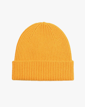 Colorful Standard Merino Wool Beanie Burned Yellow