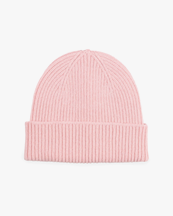 Colorful Standard Merino Wool Beanie Faded Pink