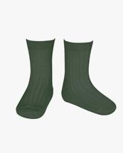 Cóndor Ribbed Short Socks