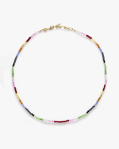Anni Lu Chasing Rainbows Necklace Gold