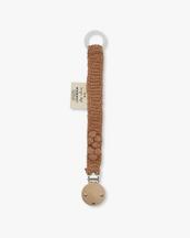 Konges Sløjd Pacifier Strap Knit Cotton Sahara