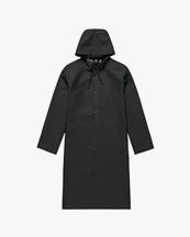 Stutterheim Stockholm Long Raincoat Black