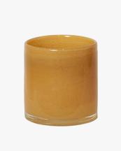Olsson & Jensen Luna Candle Holder Yellow