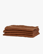 Tell Me More Kitchen Towel Linen Amber