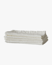 Tell Me More Kitchen Towel Linen Off White