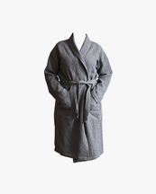 Tell Me More Miro Robe Dark Grey