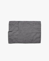 Tell Me More Placemat Linen Dark Grey