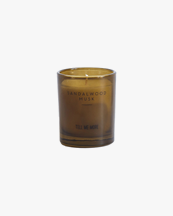 Tell Me More Scented Candle Noir Sandalwood Musk