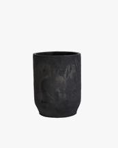 Tell Me More Hero Pot Cylinder Black