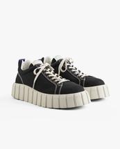 Eytys Odessa Sneakers Black Canvas