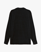 Oas Company Camisa Terry Shirt Black