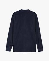 Oas Company Camisa Terry Shirt Navy