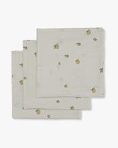 Konges Sløjd Muslin Cloth 3-Pack Lemon