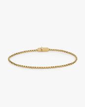Tom Wood Square Bracelet Gold