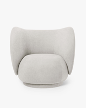 Ferm Living Rico Lounge Chair Boucle