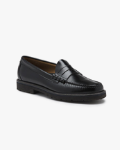 G.H. Bass Weejuns Larson Penny Loafers Black Leather