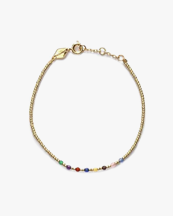 Anni Lu Rainbow Bracelet Gold