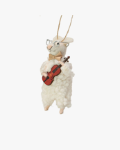 Olsson & Jensen Christmas Decoration Mouse With Violin
