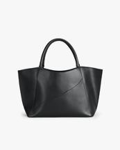 Atp Atelier Gallipoli Large Handbag Black