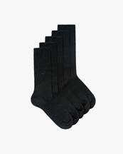 CDLP Bamboo Socks 5-Pack Black