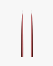 Kunstindustrien Hand Dipped Candle Dark Old Rose