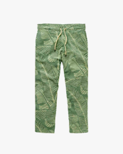 Oas Company Terry Long Pant Banana Leaf