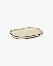 Serax Plate Rectangular Merci N°4 S Off White