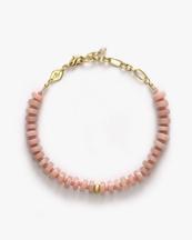 Anni Lu The Big Pink Bracelet Pink Opal
