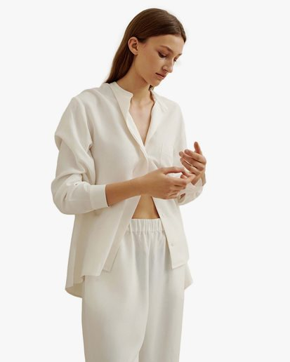 A Part Of The Art Airy Shirt White