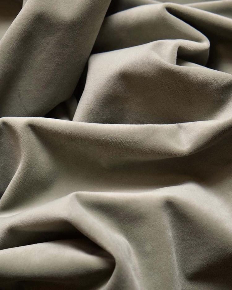 Gotain Curtain Velvet Khaki Green