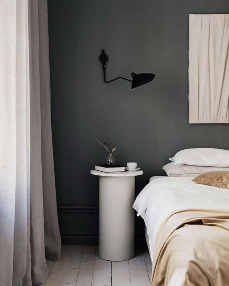 Gotain Curtain Thin Linen Grey