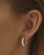 Nootka Jewelry Mid Hoop Silver