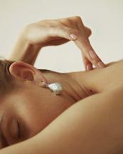 Nootka Jewelry Pearl Earring Silver