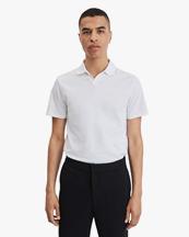 Filippa K Lycra Polo T-Shirt White
