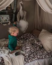 Garbo & Friends Bed Set Junior Cherrie Blossom