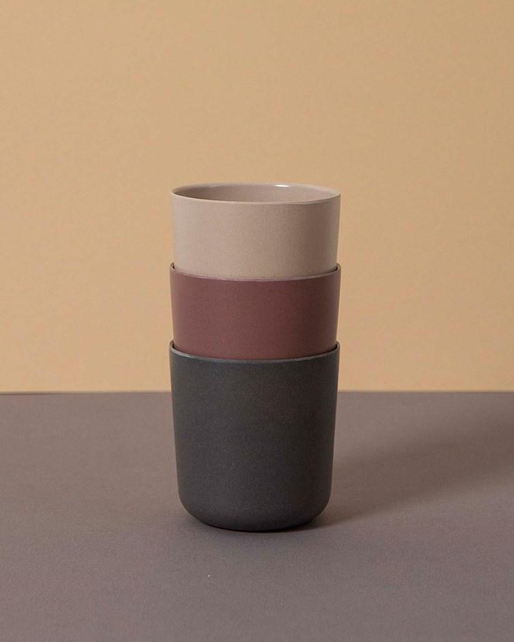 Cink Mug 3-Pack Fog/Beet/Ocean