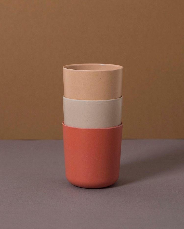 Cink Mug 3-Pack Fog/Rye/Brick