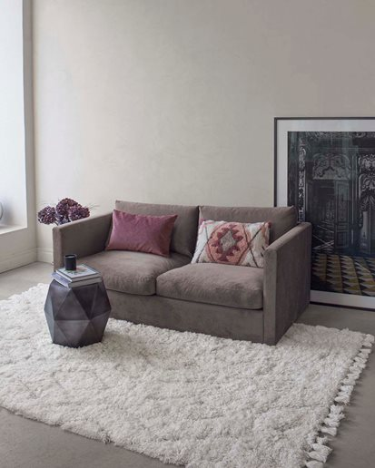 Layered Modern Oriental Rug Story of Tangier