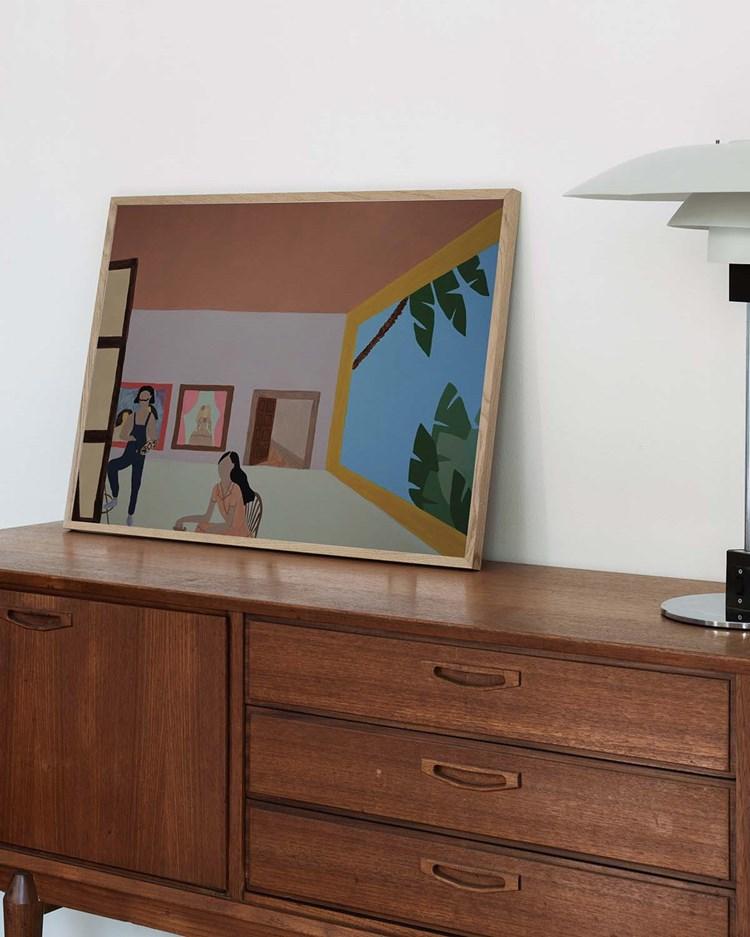 Wall Of Art Marta Leyva La Menina